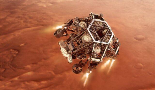 NASA Mars2020 – rover Perseverance
